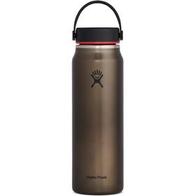 Hydro Flask Wide Mouth Trail Lightweight Bidón con Tapa Flex 946ml, marrón